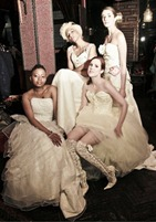 невеста в кружевных сапогах