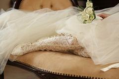 свадебные сапоги-чулки