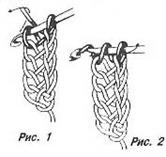 вязание крючком схема