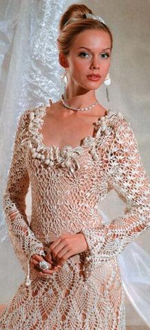 В этом роскошном вязаном платье вы