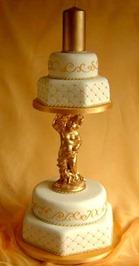 подставка для торта в стиле ретро