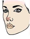 нос картошкой макияж