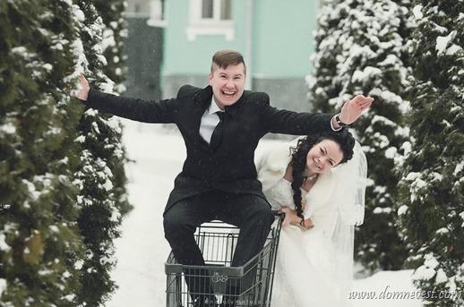 веселые зимние фотографии