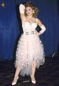 свадебное платье Мадонны Like a Virgin