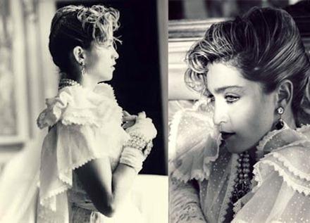 свадебное платье из клипа Мадонны Like a Virgin
