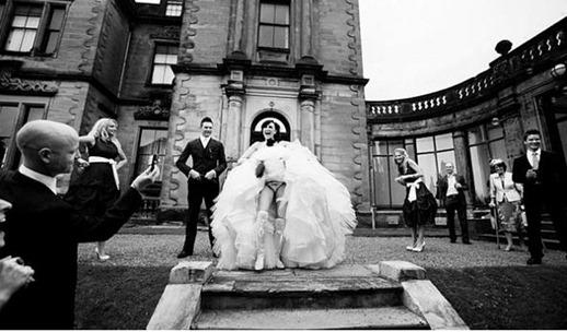 скандальные свадебные фото
