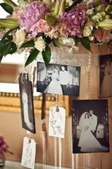 украшение свадебными фотографиями