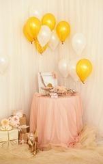 украшение дома невесты шарами
