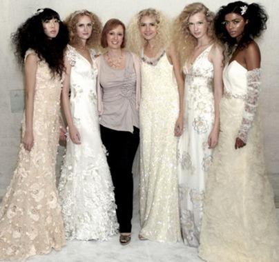 свадебные платья Claire Pettibone 2012