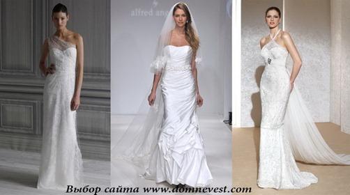 вечерние свадебные платья