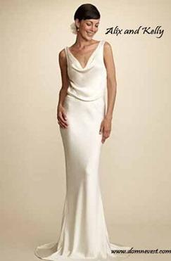 Свадебное платье в стиле Пиппы Миддлтон от alix and kelly