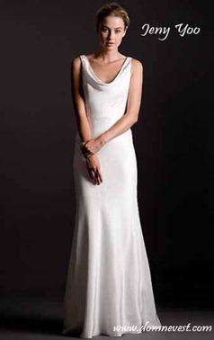 Свадебное платье в стиле Пиппы Миддлтон от jenny yoo