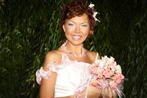 свадебный букет для невысокой невесты