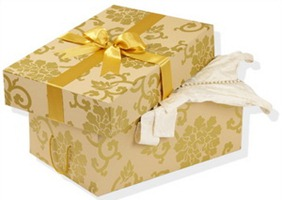 коробка для хранения свадебного платья
