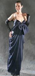 черное свадебное платье от Etoffes et Silhouettes