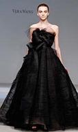 черное свадебное платье vera wang