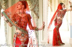 индийское свадебное платье