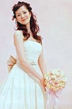 невеста с букетом