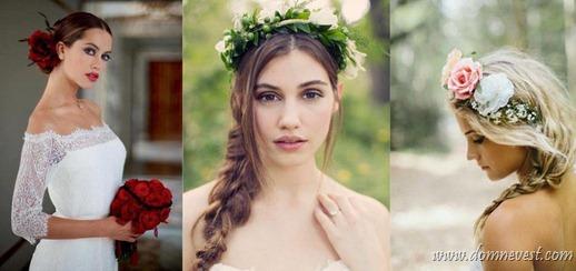 цветы в образе невесты
