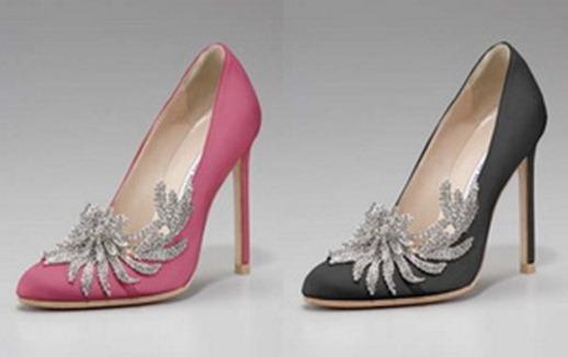 свадебные туфли Беллы Свон черные бордовые