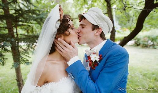 свадьба в стиле русской сказки