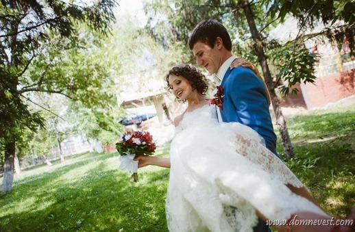летняя сказочная свадьба