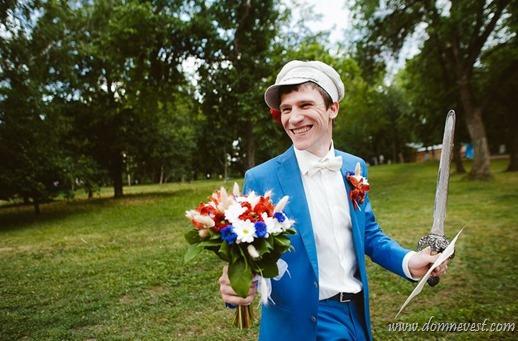 выкуп невесты в богатырском стиле
