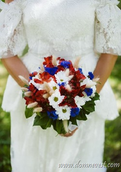 Russian wedding bouquet