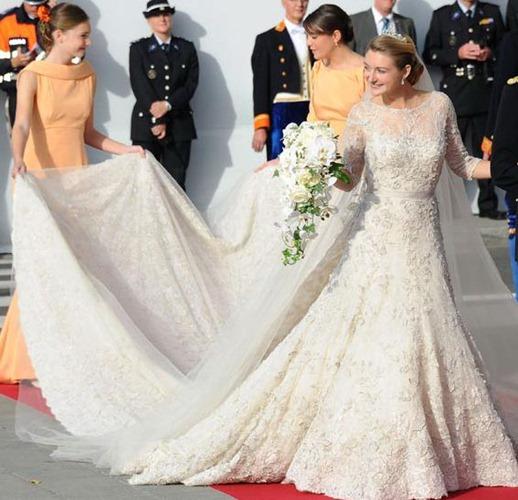 свадебное платье принцессы Стефани