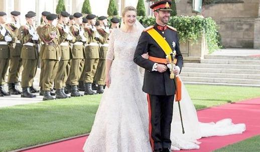 королевская свадьба в Люксембурге