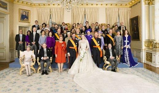королевская свадьба Люксембург