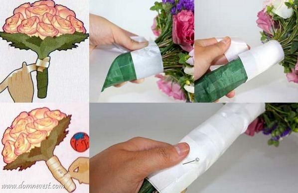 Как сделать букет своими руками из живых полевых цветов