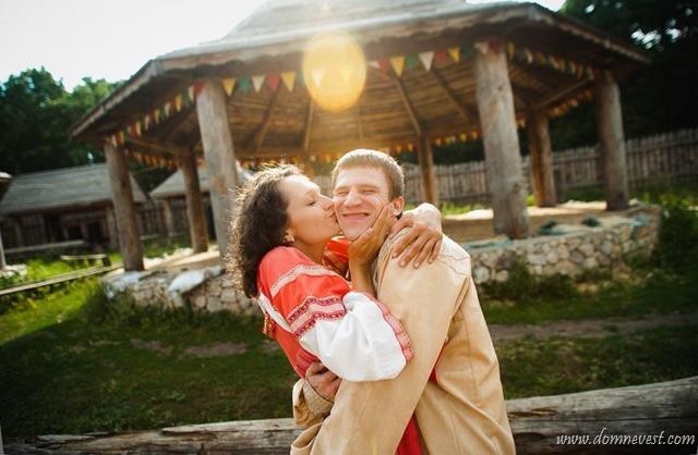 Love Story в стиле русской сказки
