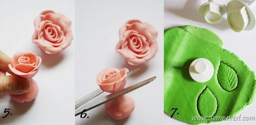 Сделать украшения на торт своими руками