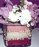 флористическая композиция для украшения стола