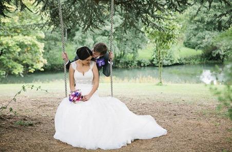 свадьба в стиле героев романа