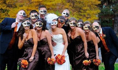 свадьба в стиле карнавал