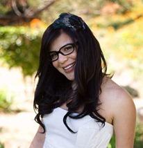 невеста в очках макияж