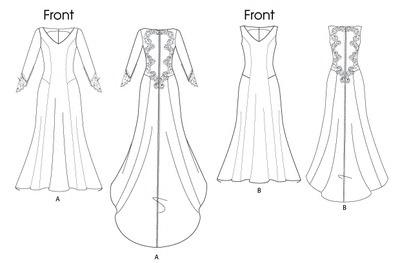 выкройка свадебного платья беллы свон