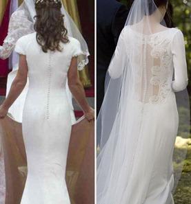 свадебное платье Беллы Свон и Пиппы Миддлтон