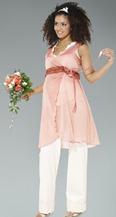 свадебный брючный костюм для беременных