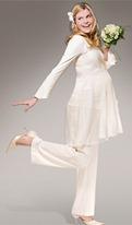 свадебный костюм для беременных