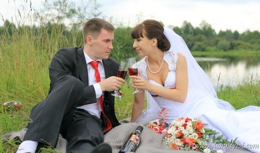 красно-вишневая свадьба