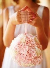 свадебный букет шар