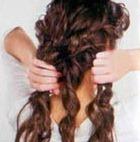 разделить волосы