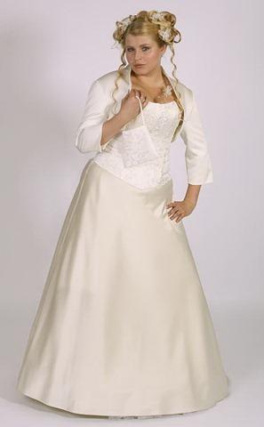 При выборе наряда для вашей свадьбы помните, что свадебные платья для полных невест должны отличаться не только наличием размера XXL, но и фасоном