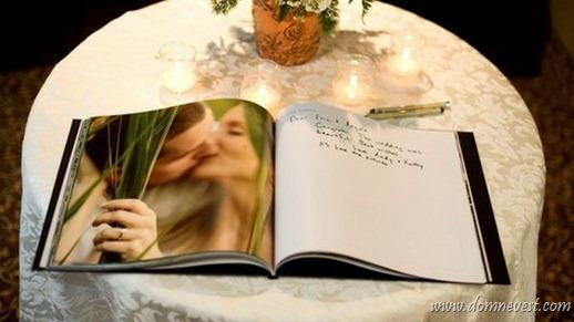 свадебная книга для пожеланий фотокнига