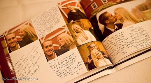 книга для пожеланий с фото