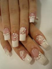 накладные ногти на свадьбу
