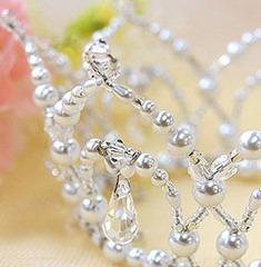 свадебная корона своими руками